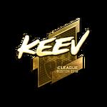 Keev (Gold) Boston'18