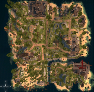 Jungle - mapa