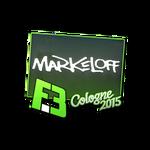 Markeloff - naklejka