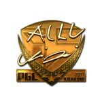 Allu (Gold) Kraków'17