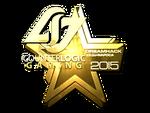Counter Logic Gaming Cluj'15 (złoto)