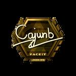 Cajunb (Gold) London'18