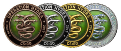 Odznaki Operacji Hydra