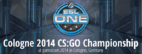 ESL One Cologne 2014