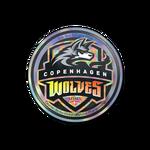 Copenhagen Wolves (Holo) ESL One Cologne 2014