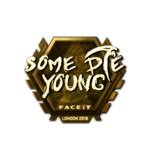 Somedieyoung (Gold) London'18