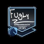 FugLy - naklejka Cluj'15