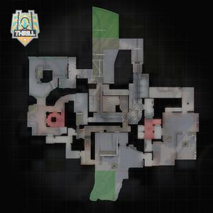 Thrill - mapa
