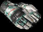 Rękawiczki motocyklowe Zielona mięta