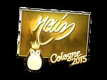 Rain - naklejka Cologne 2015 (złoto)