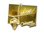 Furlan - naklejka Cologne 2015 (złoto)