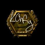 K0nfig (Gold) London'18