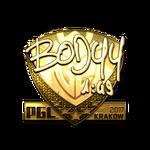 Bodyy (Gold) Kraków'17