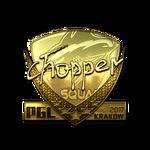Chopper (Gold) Kraków'17