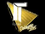 Titan Cologne 2015 (złoto)
