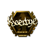 Kjaerbye (Gold) London'18
