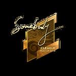 Somebody (Gold) Boston'18
