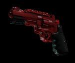 R8 Revolver Crimson Web