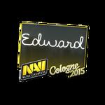 Edward - naklejka