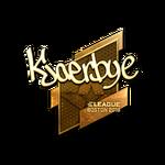 Kjaerbye (Gold) Boston'18