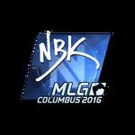NBK- (Folia) MLG Columbus'16