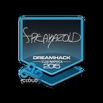 Freakazoid - naklejka Cluj'15