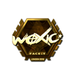 Woxic (Gold) London'18