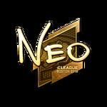 NEO (Gold) Boston'18
