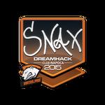 Snax - naklejka Cluj'15