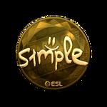 S1mple (Gold) Katowice'19