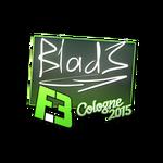 B1ad3 - naklejka
