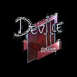 Device (Folia) Boston'18