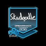 Skadoodle - naklejka Cluj'15