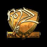 Ropz (Gold) Kraków'17