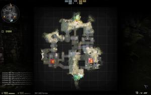 Ruins - mapa
