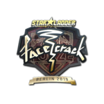 Facecrack (Gold) Berlin'19