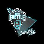 Team eBettle ESL One Cologne 2015