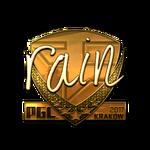 Rain (Gold) Kraków'17