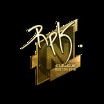 RpK (Gold) Boston'18