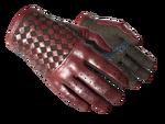 Rękawiczki kierowcy Szkarłatny splot