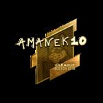 AmaNEk (Gold) Boston'18