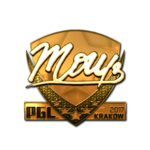 Mou (Gold) Kraków'17