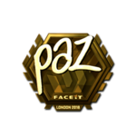 Paz (Gold) London'18