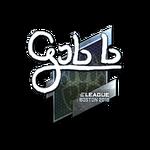 Gob b (Folia) Boston'18
