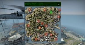 Blacksite - mapa