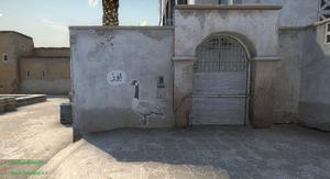 Graffiti 'Goose' (nowe)