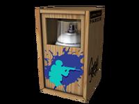 Pudełko społeczności z graffiti CSGO