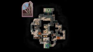 Abbey - mapa