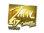 Tarik - naklejka Cologne 2015 (złoto)