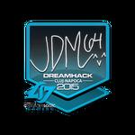 Jdm64 - naklejka Cluj'15